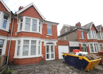 Thumbnail 3 bed semi-detached house to rent in Caerphilly Road, Cardiff