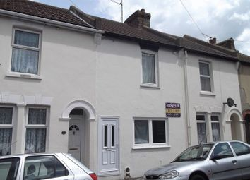 Thumbnail 2 bedroom terraced house to rent in Glencoe Road, Chatham, Kent