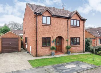Thumbnail 5 bed detached house for sale in Hymers Close, Brandesburton, Driffield