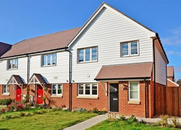 Thumbnail 4 bedroom end terrace house for sale in Belle View Close, New Romney, Kent