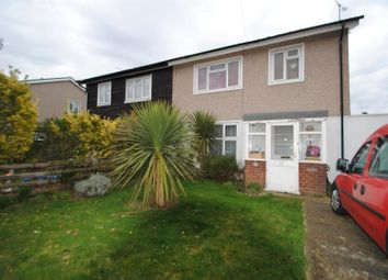 Thumbnail 3 bedroom semi-detached house for sale in Waltham Crescent, Southend-On-Sea