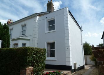 Thumbnail 2 bed semi-detached house for sale in Raleigh Road, Exmouth