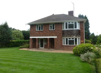 Thumbnail 4 bed detached house to rent in Barton Road, Wisbech