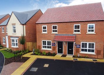 Thumbnail 3 bed semi-detached house for sale in Wagtail Avenue, Kibworth Beauchamp, Leicester, Leicestershire