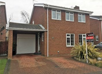 Thumbnail 3 bed detached house for sale in Dorchester Court, New Hartley, Tyne & Wear