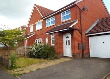 Thumbnail 3 bedroom semi-detached house to rent in Sandringham Close, Brackley