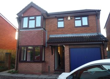 Thumbnail 5 bed detached house to rent in Eggington Drive, Stafford