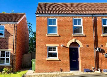 Thumbnail 3 bed semi-detached house for sale in Murphy Close, Crook