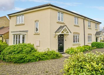 Thumbnail 3 bedroom semi-detached house for sale in Lannesbury Crescent, St. Neots