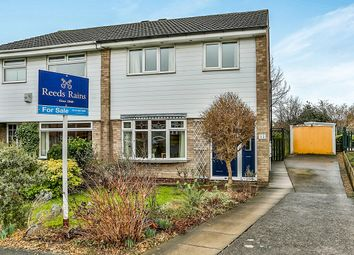 Thumbnail 3 bed semi-detached house for sale in Goldcrest Walk, Thorpe Hesley, Rotherham