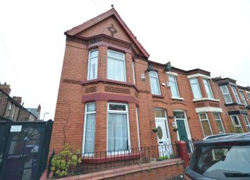 Thumbnail 4 bed terraced house for sale in Oakdale Road, Mossley Hill, Liverpool