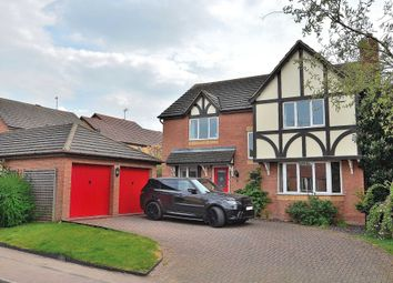 Thumbnail 4 bed detached house for sale in Newbolt Close, Newport Pagnell