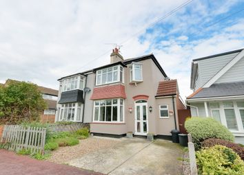 Thumbnail 3 bed semi-detached house for sale in Bailey Road, Leigh-On-Sea