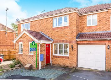 Thumbnail 3 bed semi-detached house for sale in Teasel Drive, Woodville, Swadlincote