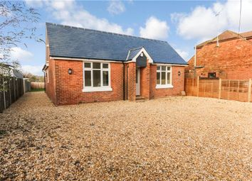 Thumbnail 3 bed detached bungalow for sale in Rownhams Road, North Baddesley, Southampton, Hampshire