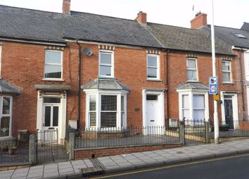 Thumbnail 3 bed terraced house for sale in North Road, Cardigan, Ceredigion