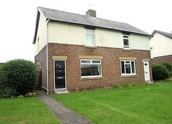 Thumbnail 2 bed semi-detached house for sale in Holywell Avenue, Holywell, Whitley Bay