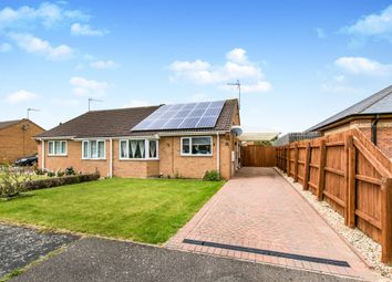 Thumbnail 2 bed semi-detached bungalow for sale in Northwood Drive, Sleaford
