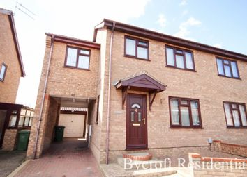 Thumbnail 3 bed semi-detached house for sale in Shearwater Drive, Bradwell, Great Yarmouth