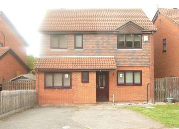 Thumbnail 4 bed detached house to rent in Fowey Close, Wellingborough