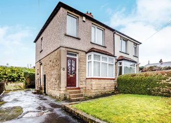 Thumbnail 2 bed semi-detached house for sale in Balmoral Avenue, Crosland Moor, Huddersfield