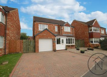 Thumbnail 4 bed detached house for sale in The Oaks, Middleton St George, Darlington