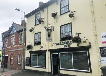 Thumbnail Pub/bar for sale in Mackrells Terrace, Wolborough Street, Newton Abbot