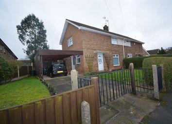 Thumbnail 3 bedroom semi-detached house for sale in Croft Road, Keyworth, Nottingham