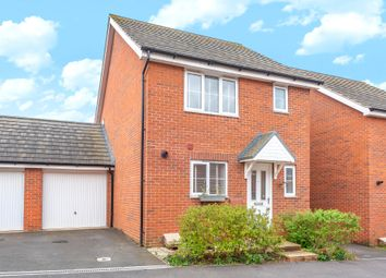 Thumbnail 3 bed detached house for sale in Curtis Close, Watchfield, Swindon