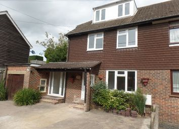 Thumbnail 4 bed semi-detached house to rent in Baker Street, Uckfield