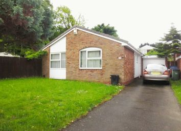 Thumbnail 2 bedroom detached bungalow for sale in St. Benedicts Close, West Bromwich