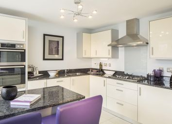 "Thumbnail 4 bed detached house for sale in ""Halstead"" at Saxon Court, Bicton Heath, Shrewsbury"