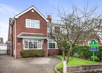 Thumbnail 4 bedroom semi-detached house for sale in Bernard Grove, Meir Heath, Stoke-On-Trent
