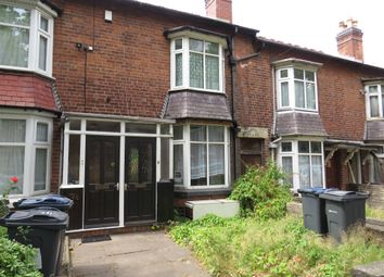 Thumbnail 2 bed terraced house for sale in Windermere Road, Handsworth, Birmingham