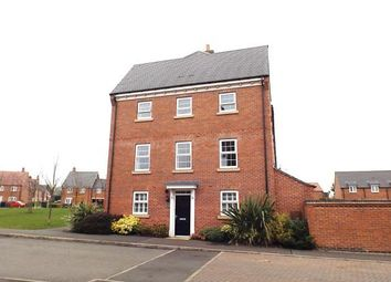 Thumbnail 4 bed end terrace house for sale in Thackney Leys, Kibworth Harcourt, Leicester, Leicestershire