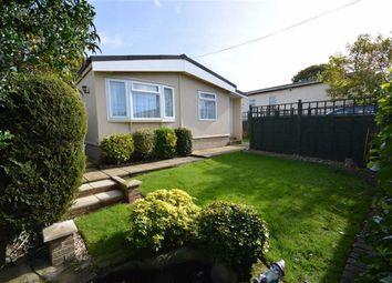 Thumbnail 2 bedroom mobile/park home for sale in Glendene Park, Bashley Cross Road, New Milton