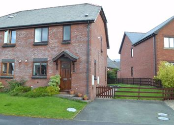 Thumbnail 3 bed semi-detached house for sale in 26, Rhos Y Maen Isaf, Llanidloes, Powys