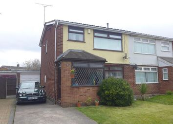 Thumbnail 3 bed semi-detached house for sale in Radnor Drive, Widnes