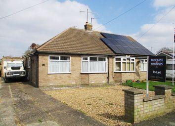 Thumbnail 2 bedroom bungalow to rent in Martins Lane, Hardingstone, Northampton