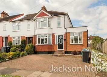 Thumbnail 3 bed end terrace house for sale in Thrigby Road, Chessington