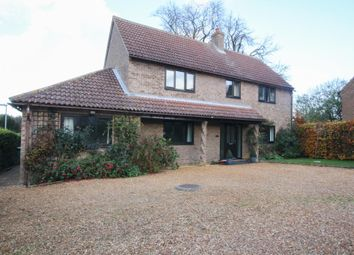 Thumbnail 4 bed detached house for sale in The Pond, Station Road, Haddenham, Ely