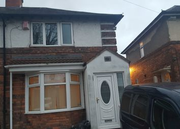 Thumbnail 3 bed semi-detached house to rent in Northleigh Road, Birmingham