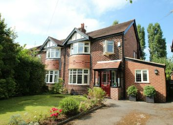 Thumbnail 4 bed semi-detached house for sale in Ridgeway Road, Timperley, Altrincham