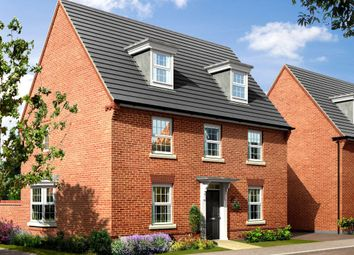 "Thumbnail 5 bed detached house for sale in ""Emerson"" at Rush Lane, Market Drayton"