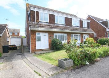 Thumbnail 3 bed semi-detached house for sale in Caroline Close, Seasalter, Whitstable