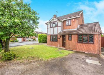 Thumbnail 3 bed detached house for sale in Foxglove Road, Broomhall, Worcester