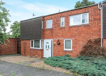 Thumbnail 3 bedroom end terrace house for sale in Newnham Close, Mildenhall, Bury St. Edmunds