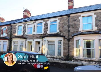 Thumbnail 5 bed terraced house for sale in Strathnairn Street, Roath, Cardiff