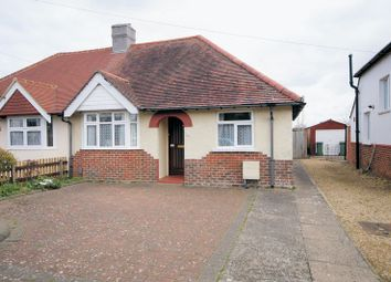 Thumbnail 2 bed semi-detached bungalow for sale in Wellington Grove, Portchester, Fareham