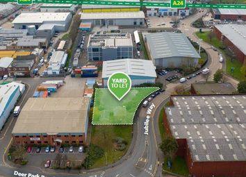 Thumbnail Land to let in Merton Industrial Park, 20A Jubilee Way, Merton, London